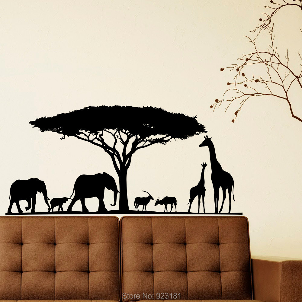 Safari Wall Art compare prices on safari wall murals- online shopping/buy low