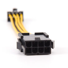 19 Cm 8 Pin Naar 8 Pin Atx Eps Man vrouw Power Extension Psu Moederbord Power Extension Adapter Kabel