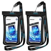 2 предмета водонепроницаемые сумки Водонепроницаемый IPX8 чехол для телефона для подводной съемки для iPhone huawei Xiaomi Водонепроницаемый мешок дл...