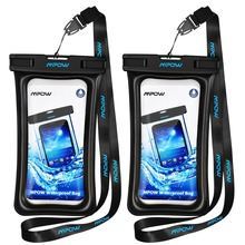 2 Pcs Swimming Bags Waterproof IPX8 Underwater Phone Case for iPhone Huawei Xiaomi Waterproof Smart Phone Pouch Bag Diving Bags