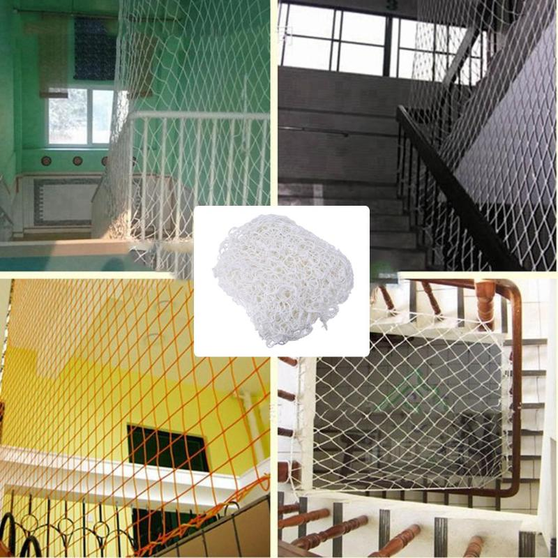 Us 16 48 17 Off Nylon Rope Safety Protecting Net Outdoors Climbing Engineering Home Railing Stairs Balcony Protector Anti Falling Net In Outdoor