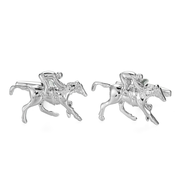 High-end Men's Cufflinks Plane Elephant Crystal Wrench Design French Shirt