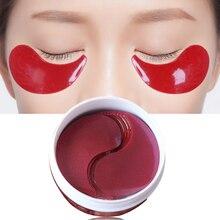 60Pcs Collagen Eye Mask Women Collagen Mask Gel Hydrogel Mask Whey Protein Moist