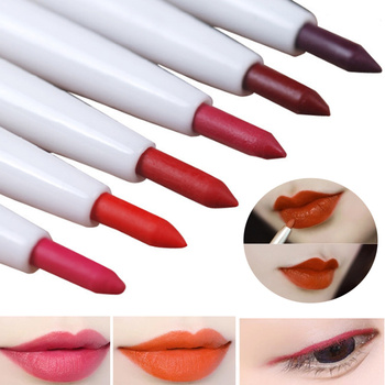 Automatic Rotary Lip Liner Long-lasting Makeup Lipliner Waterproof Lips Pencil