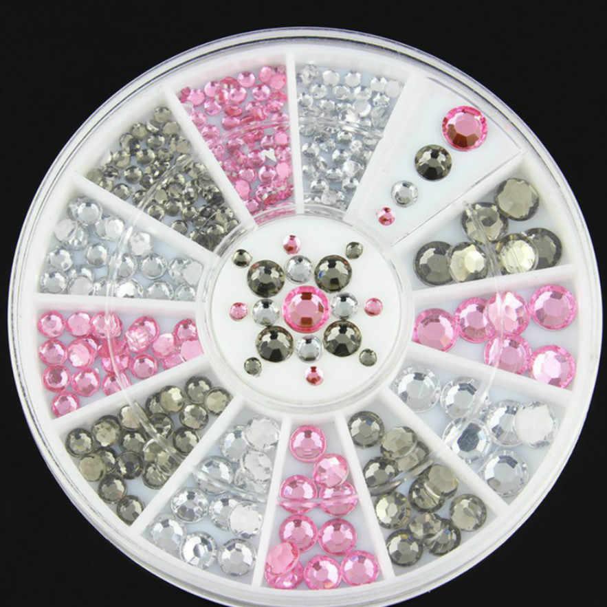 1 ADET Karışık Renk Bukalemun Taş Tırnak Taklidi Küçük Düzensiz Boncuk Manikür 3D Tırnak Sanat Dekorasyon Aksesuarları 22 Stilleri