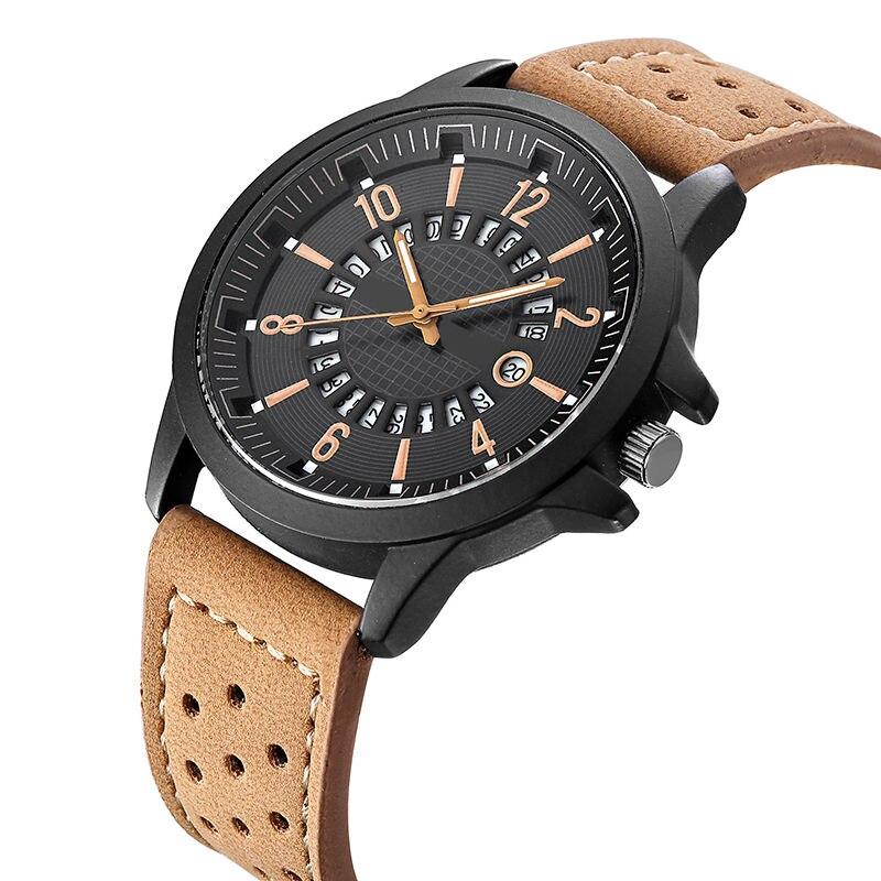 Fashion Men Watch Quartz Luxury Watches Men Classic Date Male Wristwatch