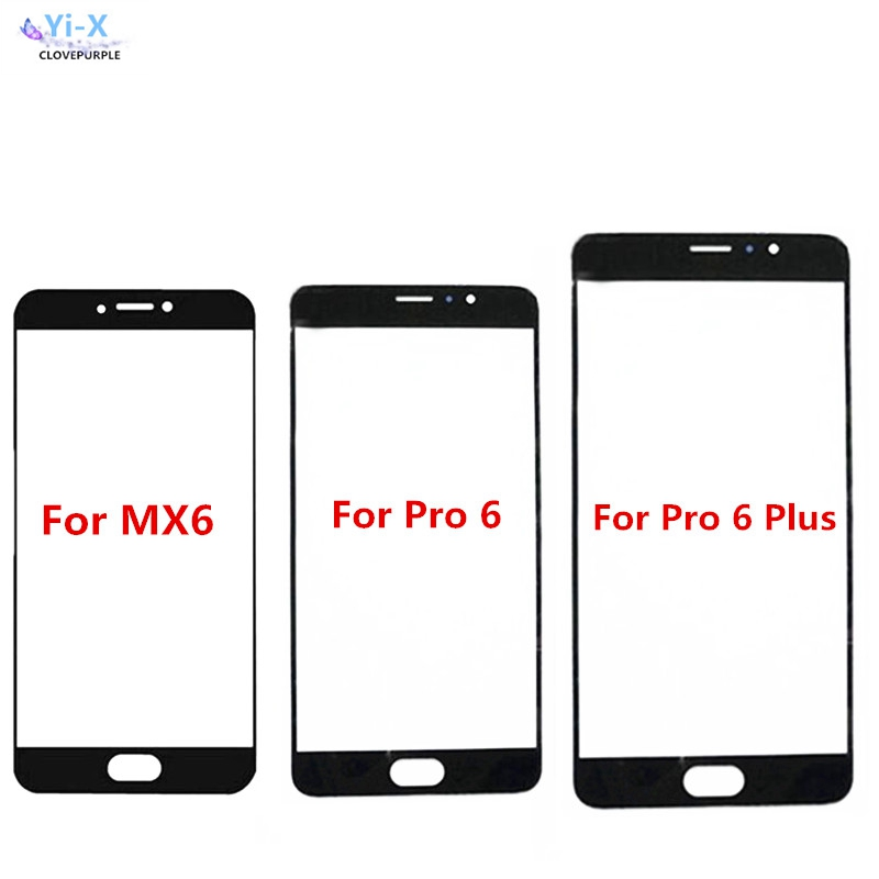 For Meizu MX6 / Pro 6 Pro6  /pro 6 Plus Touch screen Front Outer Glass Top Lens Touch Screen Panel enlarge