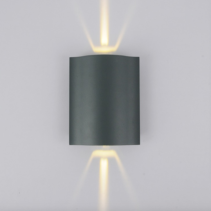 Led Outdoor Wall Light Modern Outdoor Lighting Up Down Light Aluminium  Polish Exterior Lighting Outdoor Sconce