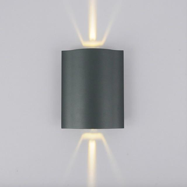 Led Outdoor Wall Light Modern Outdoor Lighting Up Down Light Aluminium  Polish Exterior Lighting Outdoor Sconce