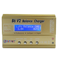 HOT SALE HTRC B6 V2 80W 6A DC RC Multi Charger For LiPo LiIon LiFe NiCd