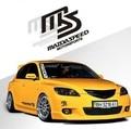 Toda Venda Etiqueta do Carro Reflexivo E Toda Motorsports Decalque MS MAZDASPEED corpo Etiqueta Para Mazda 2 Mazda 3 Mazda 6 Mazda cx 5