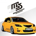 Whole Sale Reflective Car Sticker And Decal MS MAZDASPEED Motorsports Whole Body Sticker For Mazda 2 Mazda 3 Mazda 6 Mazda cx 5