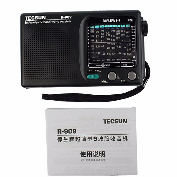TECSUN R-909 FM AM SW World (2)