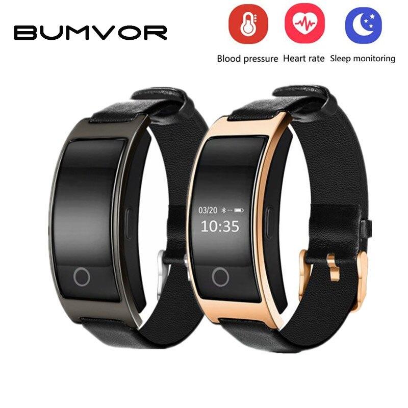 BUMVOR CK11S Armband Blutdruck Uhr Blutsauerstoffsättigung Pulsmesser Smart Armband Schrittzähler IP67 Wasserdichte Smartband