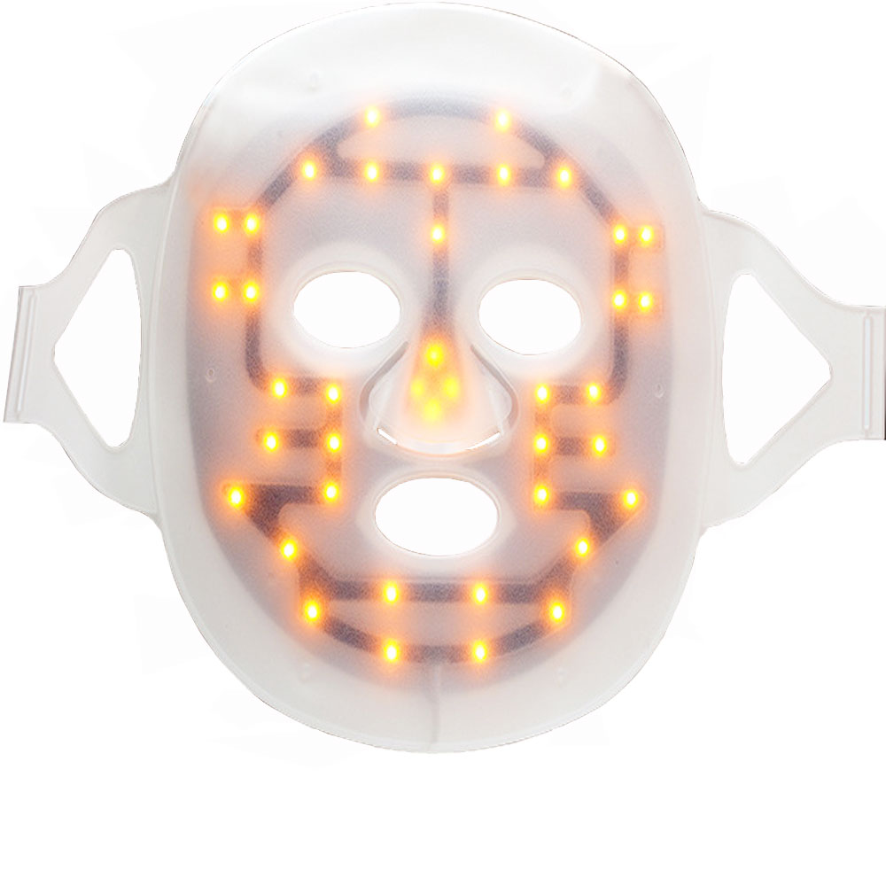 Led mask color light beauty device anti-acne skin recovery LED light power beauty mask skin restore light power beauty instrume keratin restore blonding mask