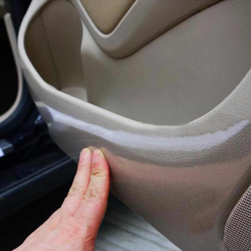 20cmX 1/2M Rhino peau voiture autocollant pare-choc capot Protection de peinture style Film vinyle Transparent décalcomanies accessoires