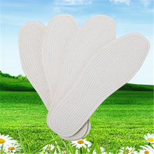 YJSFG 家ユニセックス純粋な綿の靴クッションパッドインソール快適健康インサート吸収汗靴パッドホワイト