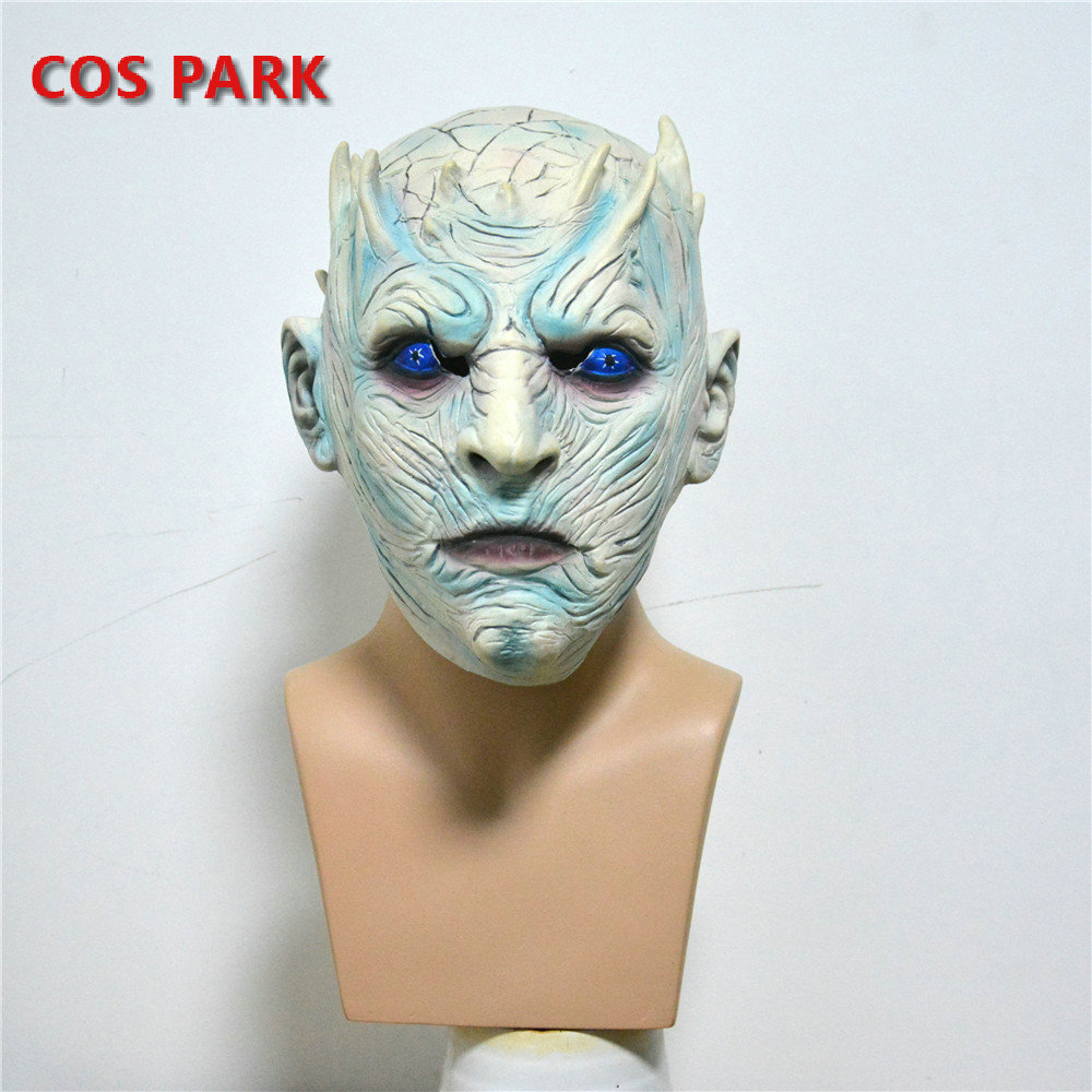 Game of Thrones Night's King Halloween Mask Latex Mask Adults Cosplay Throne Costume Party Mask