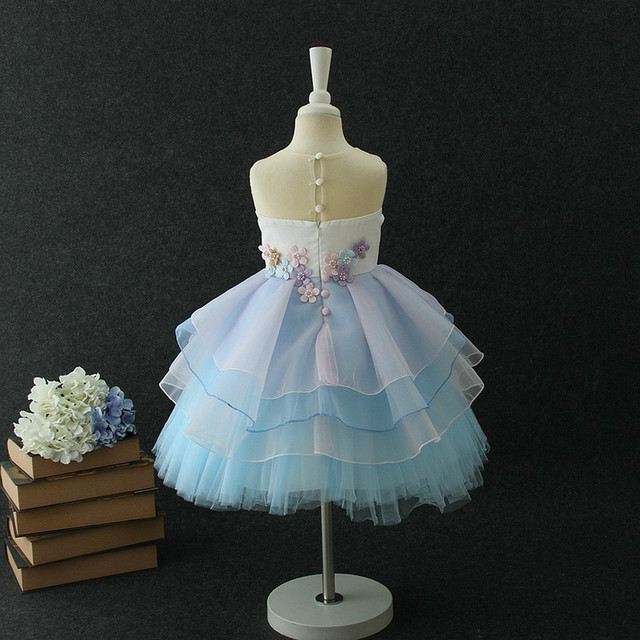 2018 Hot Selling Botiuque Girl's Dresses Christmas Wear Children Clothing Kid's Girl's Princess Party Dresses