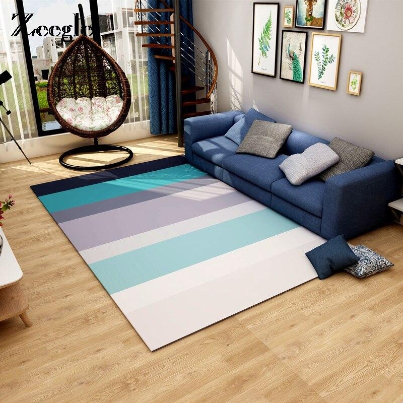 Bedroom Sofa Table: Nordic Style Carpet For Living Room Geometric Floor Mat