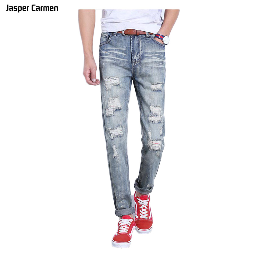 2017 NEW Brand Men Denim Jeans Straight Slim Male Cowboy Jeans Pants Fashion Classical Casual Style Men Blue Jeans 45z new men s autumn elastic black brand jeans casual fashion straight cassical denim pants men slim male jeans meth pant for man