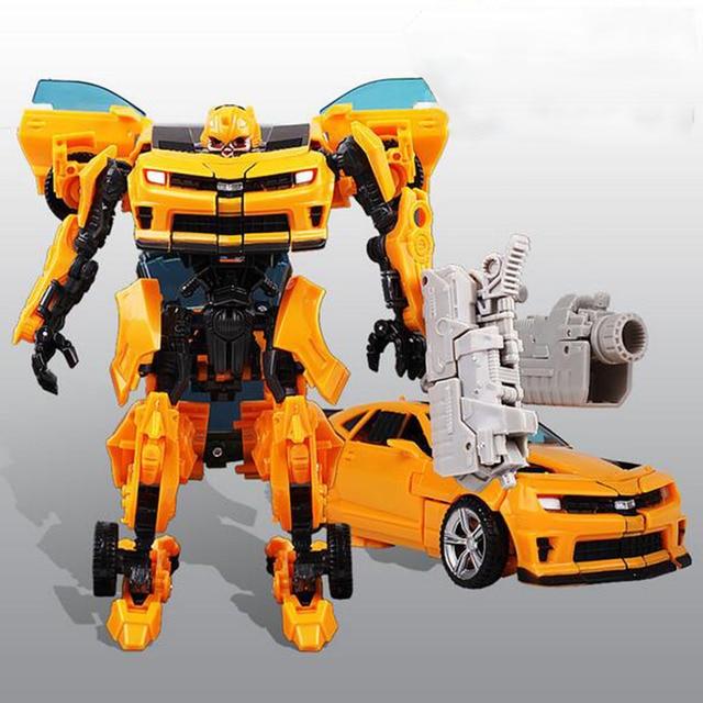 Bumblebee Transfor Auto Car 5 6 7 8 Years Boy Children Handmade Educational