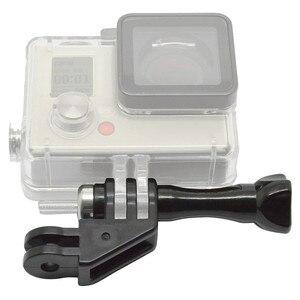 Image 5 - 90 graden Richting Adapter Elleboog Mount met Duim Schroef voor GoPro Hero 7/6/5/4/ 3/3 +/2/1 en SJCAM SJ4000 5000 Zwart