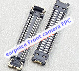 20pcs lot for iPhone 6S 4 7 J3100 earpiece Front camera FPC Connector On Motherboard