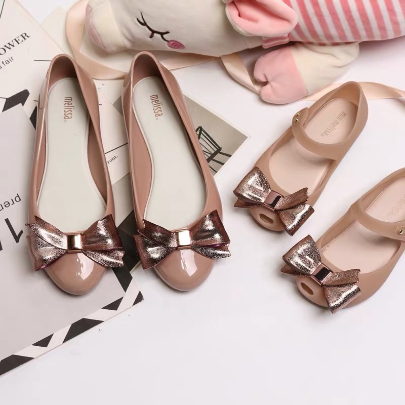 Melissa Shoes Bowtie Parent-child Shoes Women Jelly Sandals 2019 New Women Shoes Melissa Jelly Shoes Non-slipMelissa Shoes Bowtie Parent-child Shoes Women Jelly Sandals 2019 New Women Shoes Melissa Jelly Shoes Non-slip