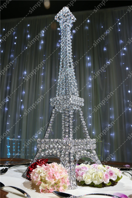 Online get cheap eiffel tower centerpiece for Cheap wedding decorations in bulk
