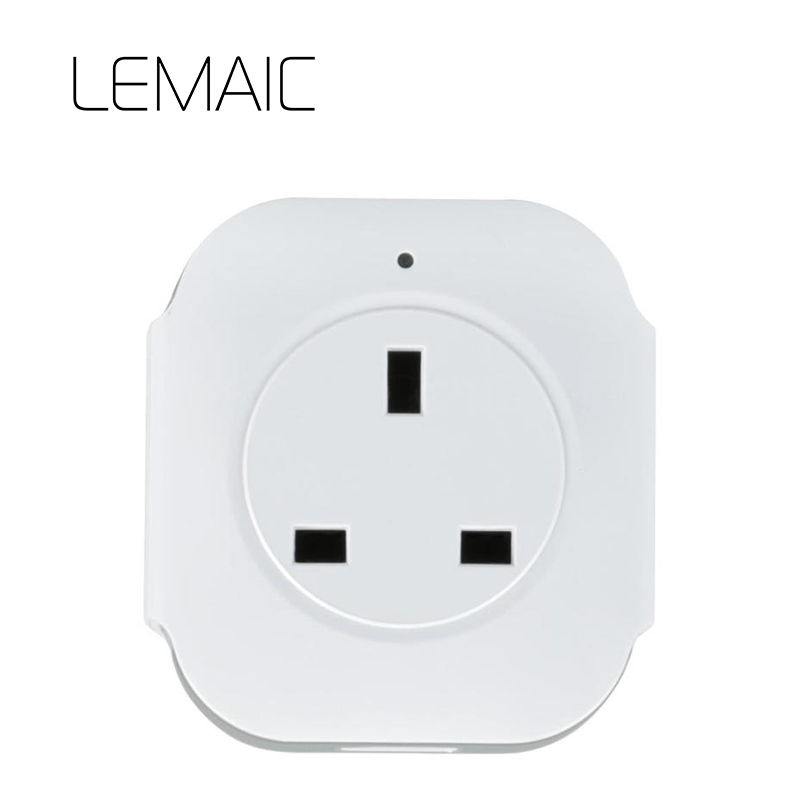 LEMAIC UK wifi power socket plug outlet cell phone Wireless Controls for iphone ipad Android smart home domotica Smart Home