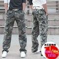 Promoción pantalones de hombre pantalones militares de los guardapolvos pantalones casuales hombres bolsas de pantalones sueltos envío gratis