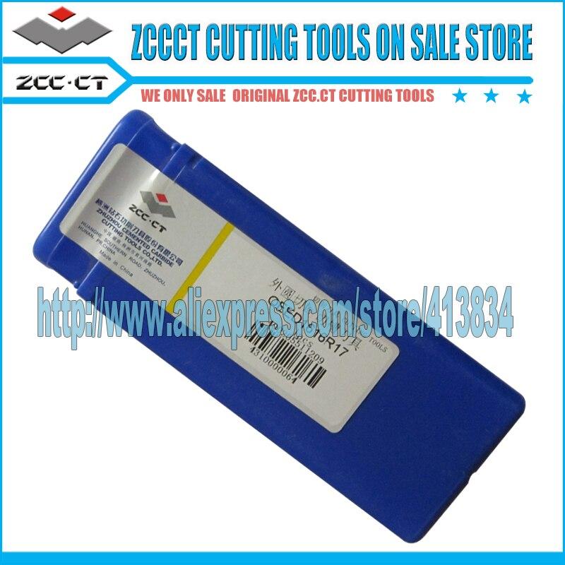 QEFD2020R17 ZCC. CT herramientas de corte de carburo de tungsteno herramientas de placa para torno cnc cortador herramienta de torneado