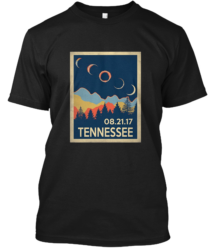Vintage Tennessee Solar Eclipse 2017 - 08.21.17 popular Tagless Tee T-Shirt