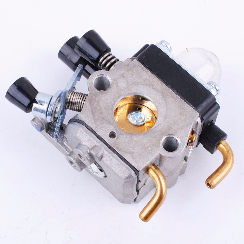 hight resolution of carburetor air filter spark plug fuel filter carb kits for stihl trimmer fs38 fs45 fs45c fs45l fs46 fs46c fs55 fs55c ae0827 in tool parts from tools on