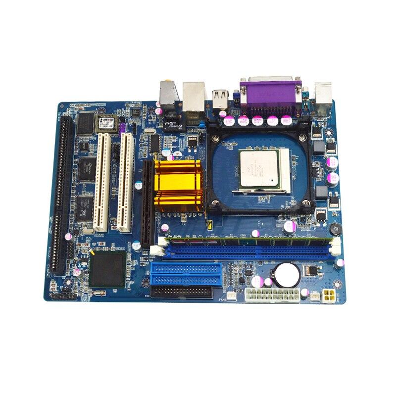 30 pièces eip industriel 1 isa slot ATX carte mère avec prise 478
