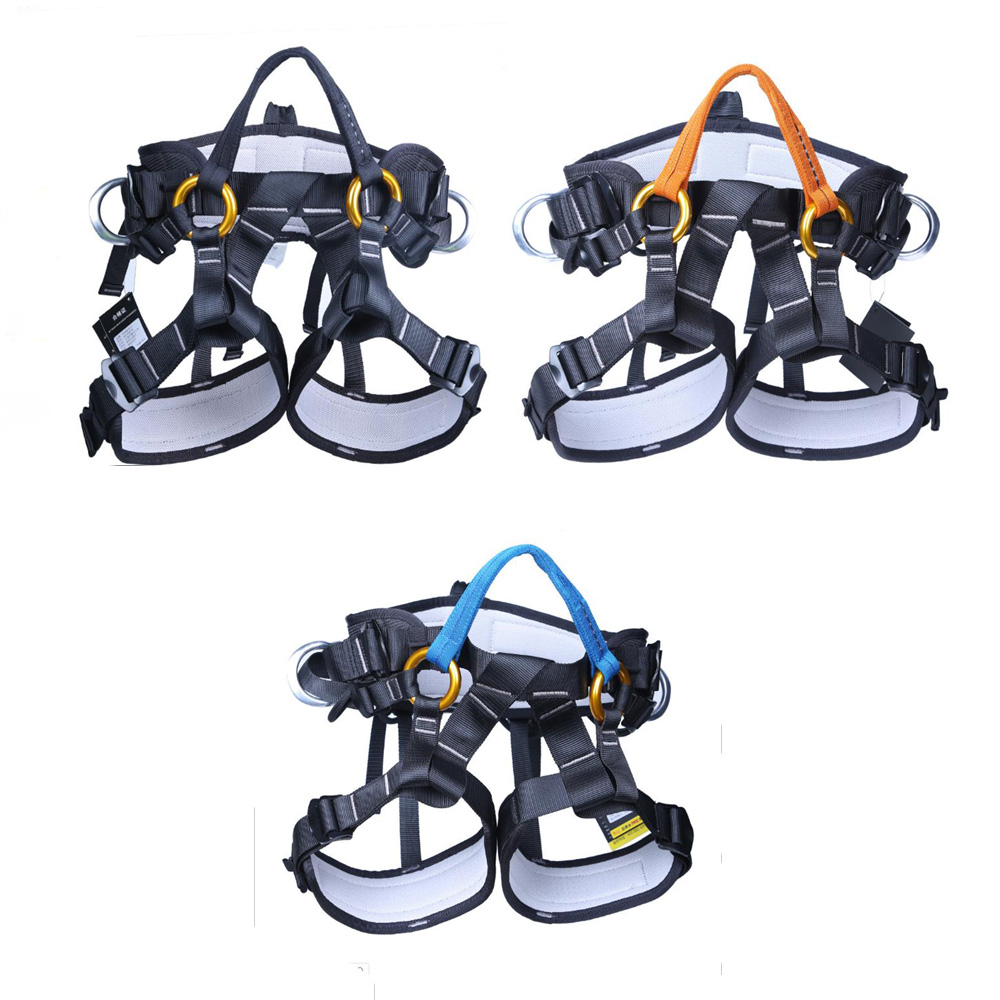Cave Exploration Training Equipment Tree Trim Aerial Belt Climbing Escalate Equipment Rock Climbing Harness