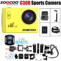 Action Camera Go NTK96660 SOOCOO C30R Wifi 4K 24FPS 16MP 2 0 LCD 30m Waterproof Extreme