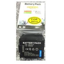 CGA-DU14 CGADU14 lithium batteries VW-VBD140 DU14 Digital camera battery For Panasonic DU06 DU07 NV-GS10 CGA-DU12 H258 GS28 328