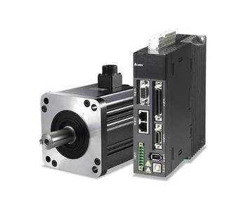 Original authentic ASD-A2-1021-M+ECMA-E11310RS, CANopen AC servo motor drive kits 1.0kw 2000rpm 4.77Nm 130mm frame