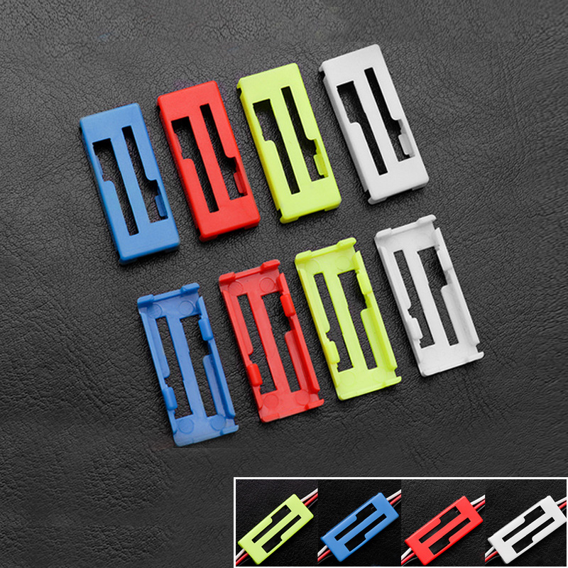 50pcs/lot Universal Servo Cable Clip Locking Fixed Buckle Servo Extension Y Line Card Fixing Locking Clips For RC Airplane Parts