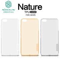 Nilkin For Xiaomi Mi5 Case TPU Cover NILLKIN Nature TPU Transparent Clear Soft Back Cover For