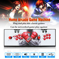 Р Андора's Box 4S 800 в 1 домашних игр двойной палки Аркады консоли Light & Панель консоли VGA/ HDMI Выход для ПК ЖК дисплей ТВ игры