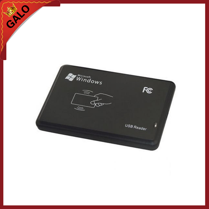 125KHz RFID Reader USB interface USB RFID ID Contactless Proximity Smart Card Reader TK4100  EM4100 125khz black usb proximity sensor smart rfid id card reader 5pcs em4100 card 5pcs em4100 keyfob em4100 em4200 em4305 t5577