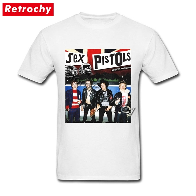 80 s Hip Hop camiseta Sex Pistols jóvenes camisetas de manga corta hombres  de moda marca f6994bd56f9de