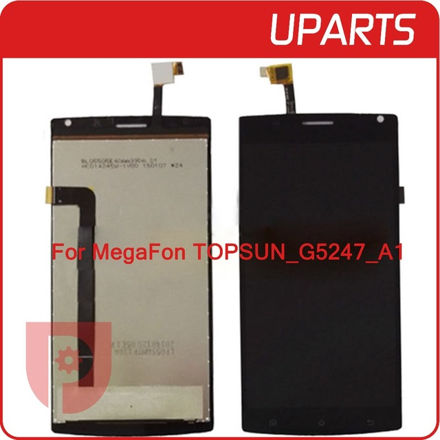 AAA Quality For 5.5'' MegaFon Login MFLoginPh TOPSUN_G5247_A1 lcd Megafon login plus LCD Display Touch Panel Digitizer Assembly