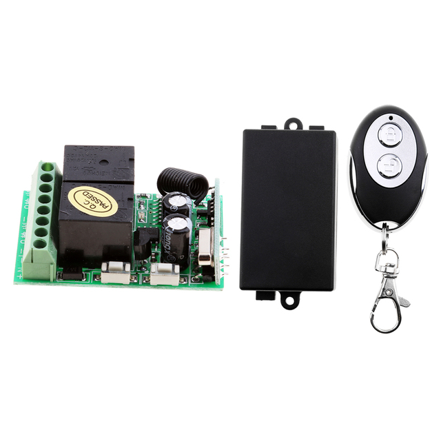 2 Channel Rf Wireless Remote Control System Dc12v 10a Relay Receiver