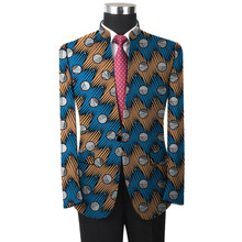 Men Wedding Suit African Blazers Slim Fit Jacket For Costume Business Formal Party Clothing