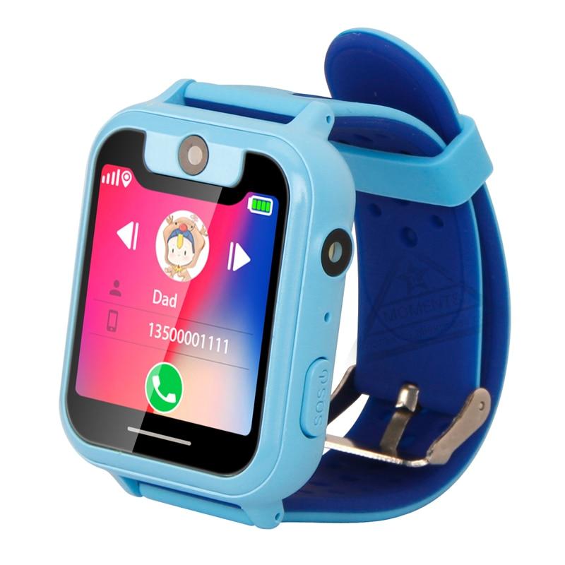Full Screen Kids Smart Watch S6 Wrist Phone Watch for Child Wrist Phone long Video Call Serkek kol saati zegarek damski