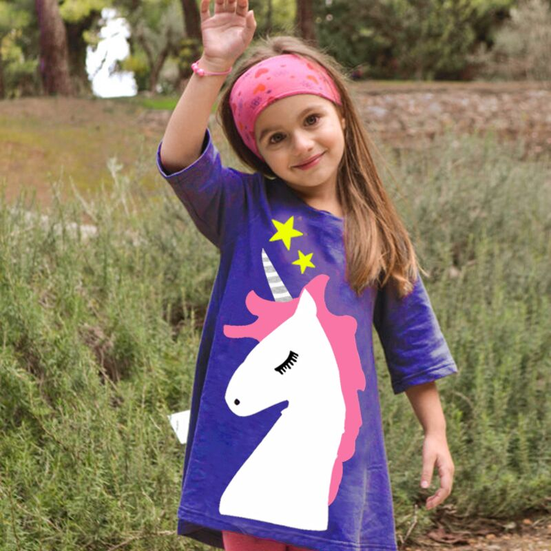 Kids Dresses for Girls Dress Long Sleeve Princess Vestidos Cotton 2017 Autumn Winter Casual Girls Clothes Jersey Robe Enfant printed baby girls dress spring autumn long sleeve princess dress casual costume cotton girls dresses kids clothes tutu vestidos